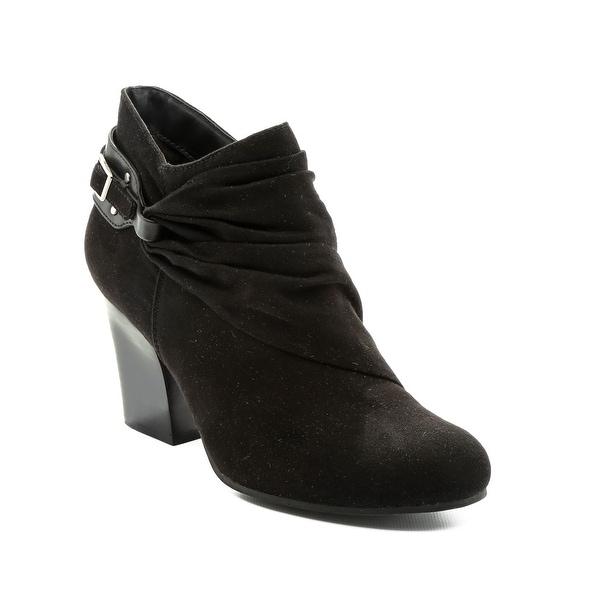 Andrew Geller Glorify Women's Boots Black Micro