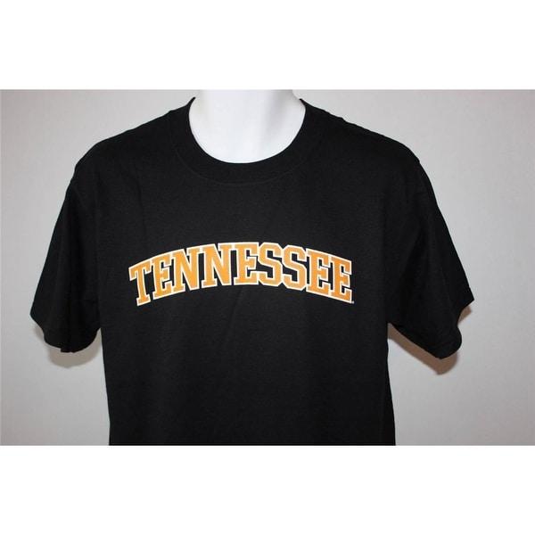 NEW Tennessee Volunteers Adult Mens Sizes S-M-XL-2XL Black T-Shirt