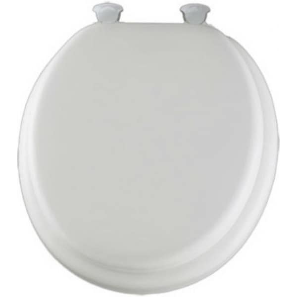 Shop Mayfair 13ec 000 Round Cushioned Vinyl Soft Toilet
