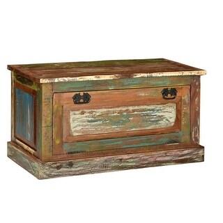 vidaXL Shoe Storage Bench Solid Reclaimed Wood