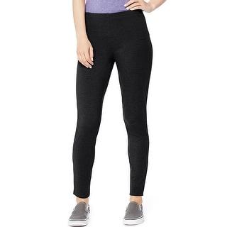 Hanes Women's Stretch Jersey Legging - Size - XL - Color - Black