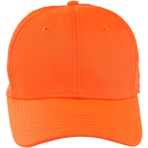 River's End Womens Blaze Orange Hunting Cap Athletic Hats Baseball