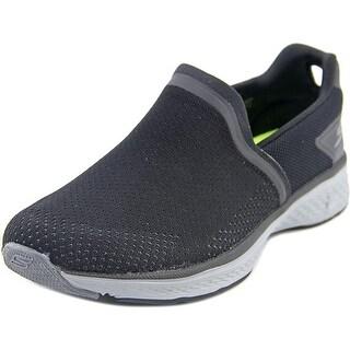 Skechers Go Walk Sport Energy Men  Round Toe Synthetic Black Sneakers