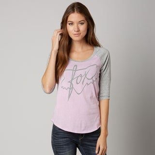 Fox 2015 Women's Turning Baseball Tee - 15224 - sweet pea