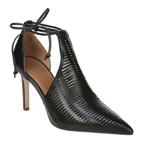 51ab544ae191f Sarto by Franco Sarto Women's Krista Bootie Black Butter Nappa Leather