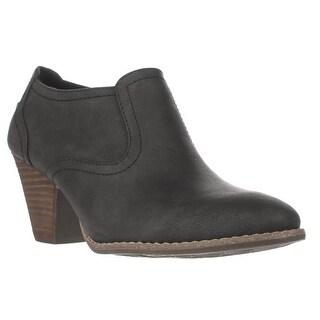 Dr. Scholl's Codi Low Rise Ankle Boots, Black