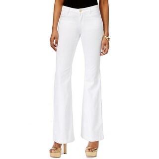 Michael Kors NEW White Wash Women's Size 10 Flare Leg Denim Jeans
