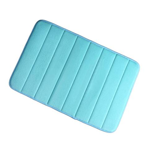 Bathroom Memory Foam Absorbent Non-slip Bath Mat Rug Shower Carpet 24 x 16 Inch