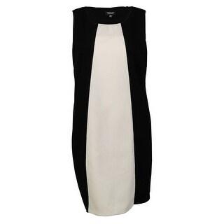 Spense Women's Colorblocked Sheath Dress - 20W