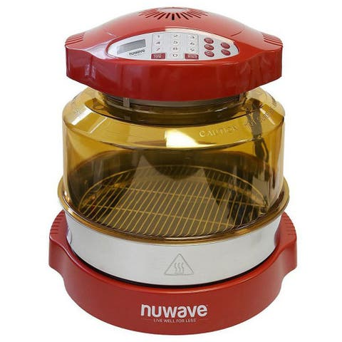 NuWave Oven Pro Plus with Extender Ring Kit (Red)