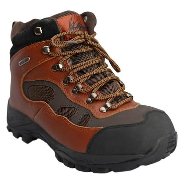 ac4c491a51b8d1 Itasca Men's Contractor II Waterproof Hiking Boot Brown/Brown Full  Grain