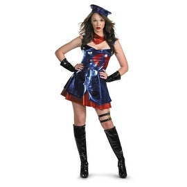 Hasbro GI Joe Deluxe Womens Cobra Costume, Size M 8-10