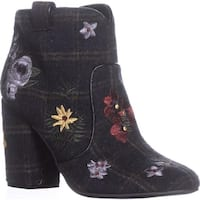 Indigo Rd. Juke Block Heel Booties, Black Multi