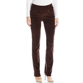Jag Jeans NEW Brown Women's Size 16 Pull-On High Rise Corduroys Pants