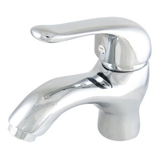 Chrome Finish Brass Cold Hot Water Mixer Tap Sink Faucet