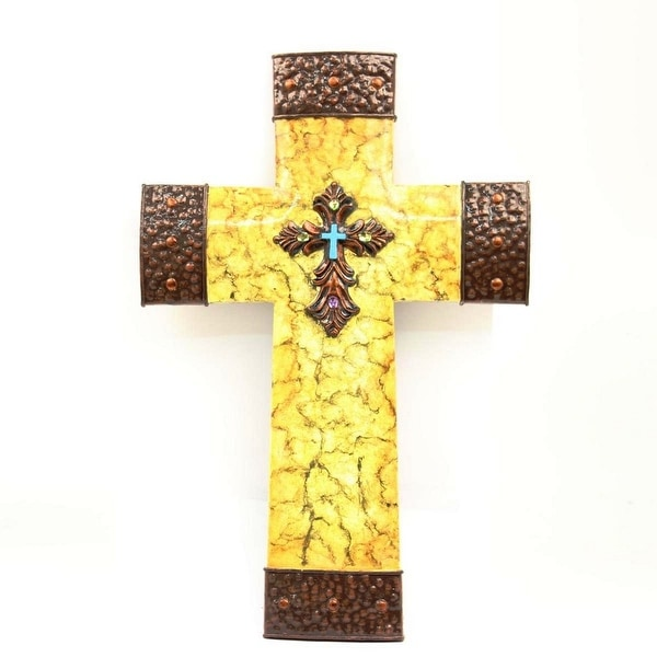 Fine Home Decor Wall Crosses Crest - Wall Art Collections ...
