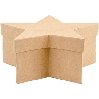 Paper-Mache Star Set 3/Pkg-