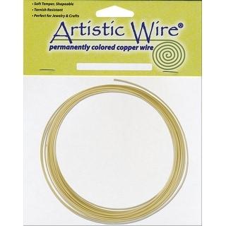 Artistic Wire-Non-Tarnish Brass - 16 Gauge, 10' - gold