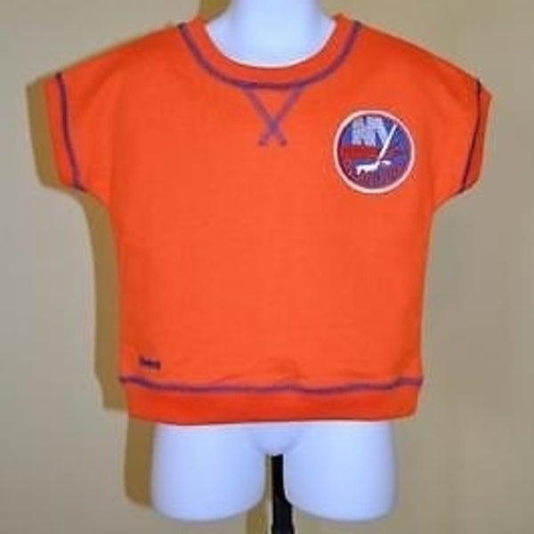 quality design a4953 081f1 Mended- Nhl NY Islanders Toddlers Sz 3 (3T) Orange Reebok Shirt 73Fm