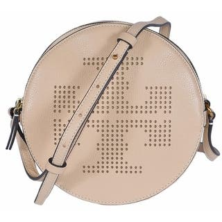 Tory Burch Sand Dune Beige Perforated Logo Crossbody Purse Bag|https://ak1.ostkcdn.com/images/products/is/images/direct/58a78db51dc9a3262d3316a6a2d492b4b39d6d57/Tory-Burch-Sand-Dune-Beige-Perforated-Logo-Crossbody-Purse-Bag.jpg?impolicy=medium