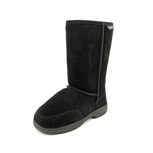 Bearpaw Meadow Women Round Toe Suede Black Winter Boot