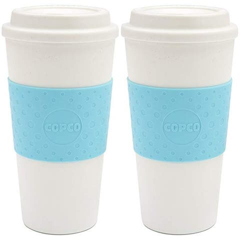 Copco Acadia BPA Free Insulated Travel Mug 16 Ounce Cup - PACK Of 2