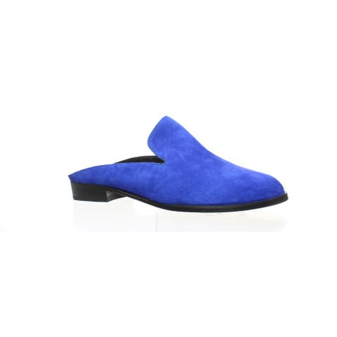 Robert Clergerie Womens Alicem Blue Mules EUR 36.5