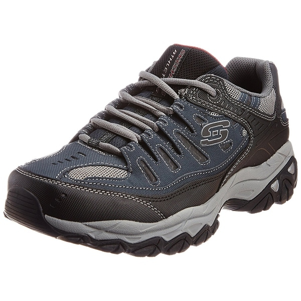 f509a01192c Shop Skechers Sport Men s Afterburn Memory Foam Lace-Up Sneaker