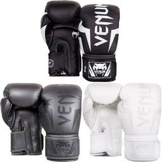 Venum Elite Hook and Loop Training Boxing Gloves