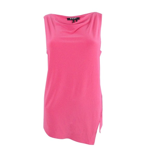 d6b0af2920d84f Shop DKNY Women's Cowl-Neck Top - M - On Sale - Free Shipping On ...