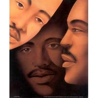 ''Brothers'' by Anon African American Art Print (20 x 16 in.)