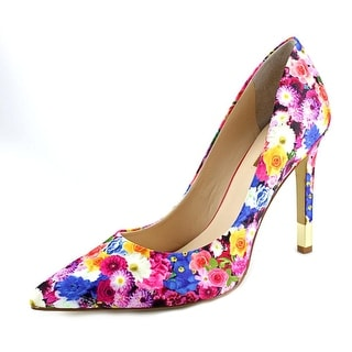 Guess Babbitta3 Pointed Toe Canvas Heels