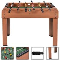 Costway 37'' Foosball Table Competition Game Soccer Arcade Sized football Sports Indooor