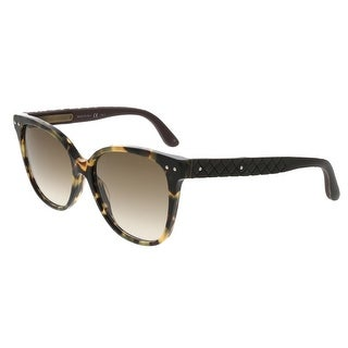 Bottega Veneta BV0044/S 004 Havana-Brown Square Sunglasses - 55-16-145