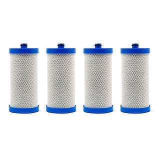 Replacement Frigidaire RG-100 Refrigerator Water Filter - by Refresh (4 Pack)