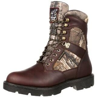 Georgia Boot Work Mens Homeland WP Insulated Hiker Brown GB00118