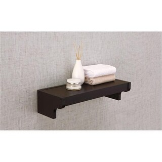 Organize It All 16155W1P Traditional Wall Mounting Shelf