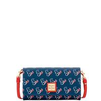Dooney & Bourke NFL Houston Texans Daphne Crossbody Wallet Shoulder Bag (Introduced by Dooney & Bourke at $178 in Aug 2017)