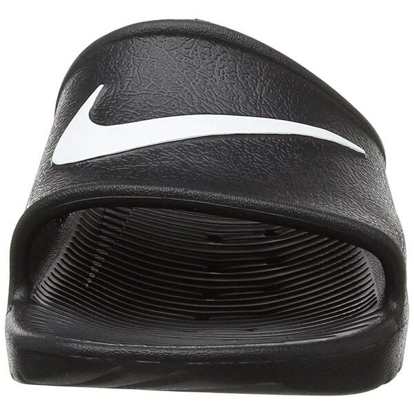 Nike Men's Kawa Shower Slide Sandals Black/White Size 10 M ...
