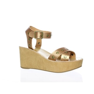 Link to Chinese Laundry Womens Ozzie Brown Ankle Strap Heels Size 6 Similar Items in Women's Shoes