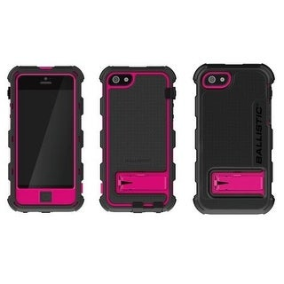 Ballistic Hard Core Case for Apple iPhone 5 (Pink/Black)