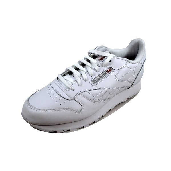 Shop Reebok Men's Classic Leather - White/White-Light Grey 9771 - - Leather 23436614 ccd3e4