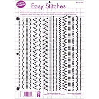 """Easy Stitches - Hot Off The Press Template 8.5""""X11"""""""