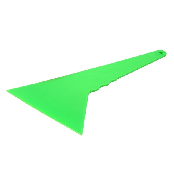 Plastic Green Car Window Sticker Film Scraper Wrapping Squeegee Cleaning Tool