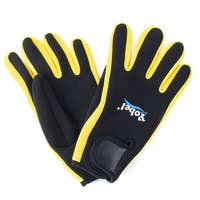 Unisex Nylon Anti Skid Water Sports Swimming Diving Gloves Pair