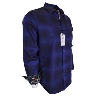 Robert Graham DARK ENERGY Moon Landing Cuffs Classic Fit Sports Shirt