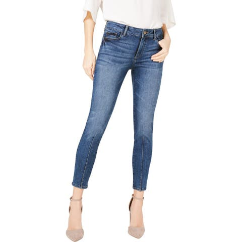 DL1961 Womens Florence Ankle Jeans Denim Tapered - Kody