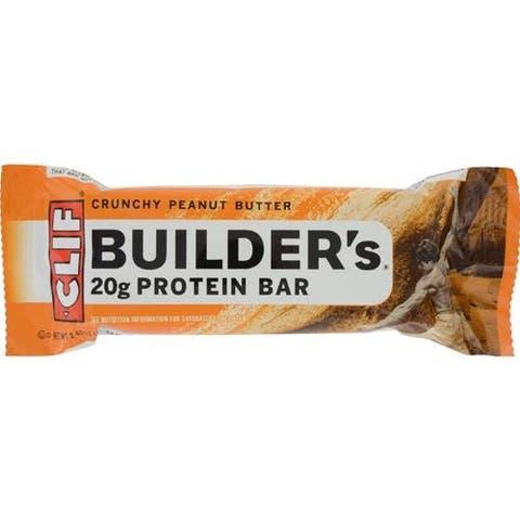 Clif Bar - Clif Builder's Crunchy Peanut Butter Bar ( 12 - 2.4 OZ)