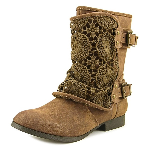 Tallulah Blu Chappie Women Brown Boots