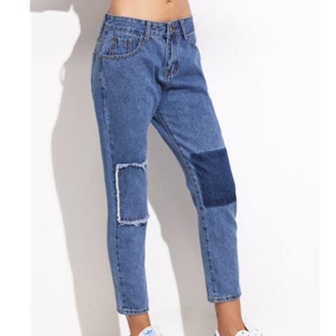 Sexy Nostalgia Patch Jeans